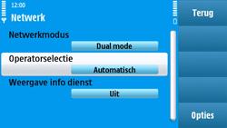 Nokia N97 - Bellen - in het buitenland - Stap 6