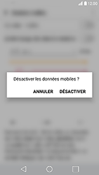 LG K10 2017 - Internet - Activer ou désactiver - Étape 4