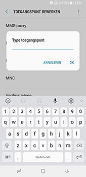 Samsung galaxy-a8-2018-sm-a530f-android-oreo - Internet - Handmatig instellen - Stap 16