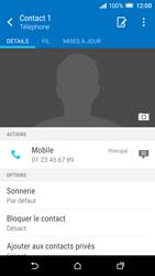HTC One A9 - Contact, Appels, SMS/MMS - Ajouter un contact - Étape 10
