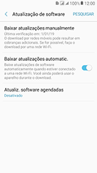 Samsung Galaxy J2 Prime - Funções básicas - Como atualizar o software do seu aparelho - Etapa 5