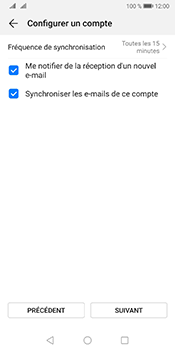 Huawei Mate 10 Pro Android Pie - E-mail - Configuration manuelle - Étape 16