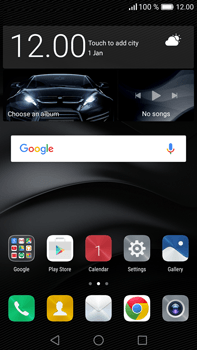 Huawei Mate 8 - Voicemail - Manual configuration - Step 1
