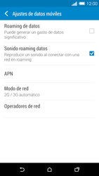 HTC One M8 - Red - Seleccionar el tipo de red - Paso 5