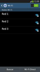 Samsung Galaxy S4 Mini - WiFi - Conectarse a una red WiFi - Paso 6