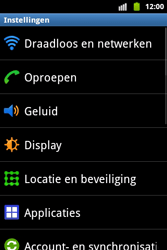 Samsung S5690 Galaxy Xcover - MMS - handmatig instellen - Stap 4