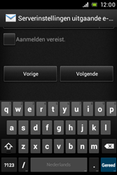 Sony Xperia E (C1505) - E-mail - Handmatig instellen - Stap 14