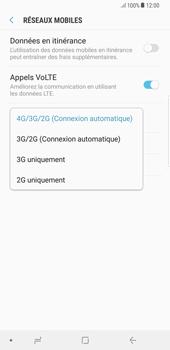 Samsung Galaxy S8 Plus - Android Oreo - Réseau - Changer mode réseau - Étape 7