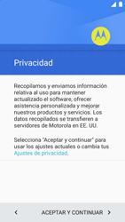 Motorola Moto G 3rd Gen. (2015) (XT1541) - Primeros pasos - Activar el equipo - Paso 8