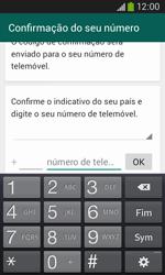 Samsung Galaxy Ace 3 LTE - Aplicações - Como configurar o WhatsApp -  6