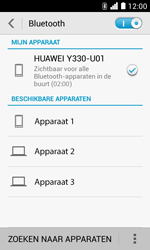 Huawei Ascend Y330 - Bluetooth - Headset, carkit verbinding - Stap 6
