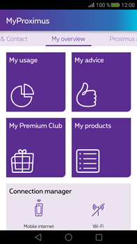 Huawei Mate S - Applications - MyProximus - Step 10