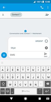 Sony Xperia XZ2 - Contact, Appels, SMS/MMS - Envoyer un MMS - Étape 8