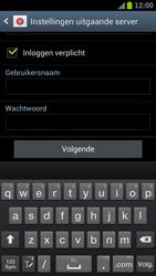 Samsung I9300 Galaxy S III - E-mail - Handmatig instellen - Stap 16