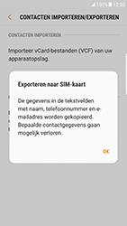Samsung Galaxy S6 Edge - Android Nougat - Contacten en data - Contacten kopiëren van toestel naar SIM - Stap 9