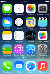 Apple iPhone 4S - Contact, Appels, SMS/MMS - Ajouter un contact - Étape 1