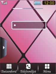 Samsung S7070 Diva - E-mail - Handmatig instellen - Stap 1