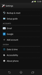 Sony C6603 Xperia Z - Network - Installing software updates - Step 5