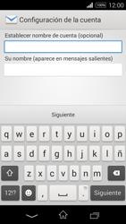 Sony D2203 Xperia E3 - E-mail - Configurar correo electrónico - Paso 17
