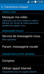 Samsung G357 Galaxy Ace 4 - Messagerie vocale - configuration manuelle - Étape 6