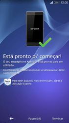 Sony Xperia M2 - Primeiros passos - Como ligar o telemóvel pela primeira vez -  10