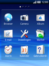 Sony Ericsson Xperia X10 Mini - Buitenland - Bellen, sms en internet - Stap 3