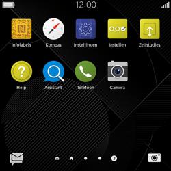 BlackBerry Classic - Voicemail - Handmatig instellen - Stap 3