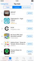 Apple iPhone 6 iOS 9 - Aplicações - Como pesquisar e instalar aplicações -  7