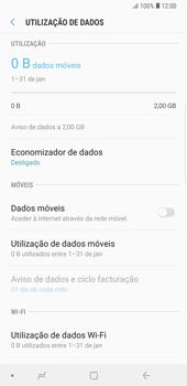 Samsung Galaxy Note9 - Internet no telemóvel - Como ativar os dados móveis -  6