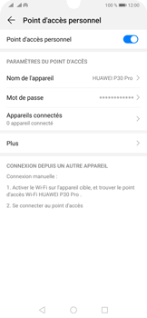 Huawei P30 Pro - Internet - comment configurer un point d'accès mobile - Étape 10