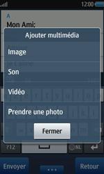 Samsung Wave 2 - Contact, Appels, SMS/MMS - Envoyer un MMS - Étape 10