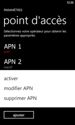 Nokia Lumia 920 LTE - Internet - Configuration manuelle - Étape 20