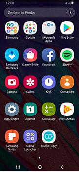 Samsung galaxy-a40-dual-sim-sm-a405fn - Contacten en data - Contacten kopiëren van toestel naar SIM - Stap 3
