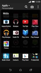 HTC Desire 510 - Photos, vidéos, musique - Créer une vidéo - Étape 4