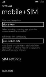 Nokia Lumia 530 - Network - Usage across the border - Step 5