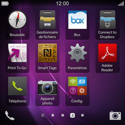 BlackBerry Q10 - Internet - Utilisation à l