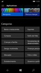 Microsoft Lumia 550 - Aplicativos - Como baixar aplicativos - Etapa 11