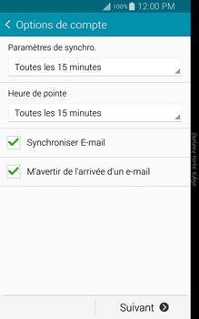 Samsung N915FY Galaxy Note Edge - E-mail - Configuration manuelle - Étape 16
