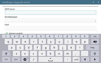 Samsung T535 Galaxy Tab 4 10-1 - E-mail - Account instellen (IMAP zonder SMTP-verificatie) - Stap 12