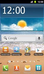 Samsung I8160 Galaxy Ace II - Funciones básicas - Uso de la camára - Paso 1