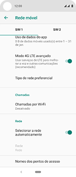 Motorola One Vision - Internet (APN) - Como configurar a internet do seu aparelho (APN Nextel) - Etapa 9