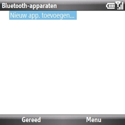 Samsung B7330 Omnia Pro - Bluetooth - headset, carkit verbinding - Stap 7