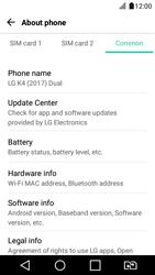 LG K4 2017 - Network - Installing software updates - Step 7