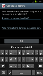 Samsung I9300 Galaxy S III - E-mail - Configuration manuelle - Étape 16