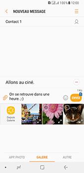 Samsung Galaxy A8 - Contact, Appels, SMS/MMS - Envoyer un MMS - Étape 15