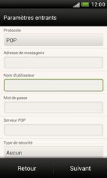 HTC T328e Desire X - E-mail - Configuration manuelle - Étape 8