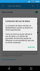 Sony Xperia Z5 - Internet - Ver uso de datos - Paso 9