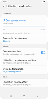 Samsung Galaxy S9 Plus - Android Pie - Internet - activer ou désactiver - Étape 6