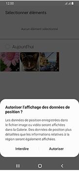Samsung Galaxy A40 - MMS - envoi d'images - Étape 16
