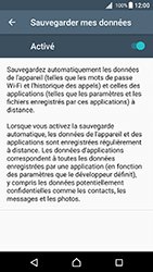 Sony Xperia X - Android Nougat - Device maintenance - Back up - Étape 9